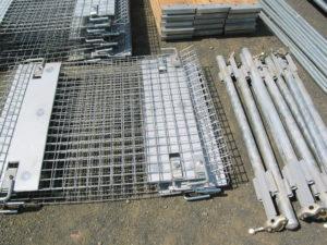 erecting scaffold