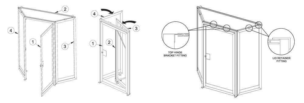 Liftwell Screens